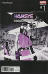 Cover for Hawkeye (Marvel, 2017 series) #1 [Marco Rudy Hip Hop Variant]