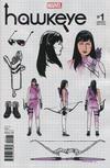 Cover for Hawkeye (Marvel, 2017 series) #1 [Incentive Leonardo Romero Design Variant]