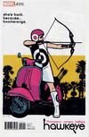Cover for Hawkeye (Marvel, 2017 series) #1 [Incentive David Aja Variant]