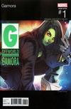 Cover for Gamora (Marvel, 2017 series) #1 [Incentive Elizabeth Torque Hip-Hop Variant]