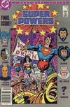 Cover Thumbnail for Super Powers (1986 series) #4 [Canadian]