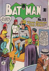 Cover Thumbnail for Batman (1950 series) #113 [1' price]