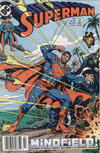 Cover for Superman (DC, 1987 series) #33 [Newsstand]