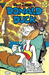 Cover Thumbnail for Donald Duck (Gladstone, 1986 series) #258 [Direct]