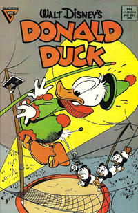 Cover Thumbnail for Donald Duck (Gladstone, 1986 series) #261 [Direct]