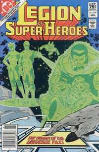 Cover Thumbnail for The Legion of Super-Heroes (DC, 1980 series) #295 [Canadian]