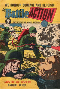 Cover Thumbnail for Battle Action (Horwitz, 1954 ? series) #6