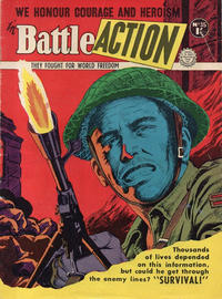 Cover Thumbnail for Battle Action (Horwitz, 1954 ? series) #35