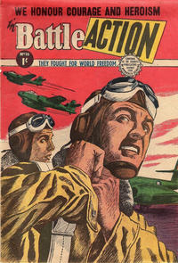 Cover Thumbnail for Battle Action (Horwitz, 1954 ? series) #16