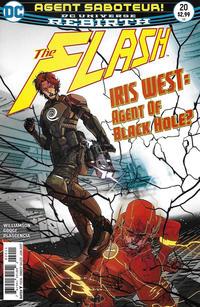 Cover Thumbnail for The Flash (DC, 2016 series) #20 [Carmine Di Giandomenico Cover]