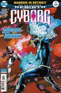Cover Thumbnail for Cyborg (DC, 2016 series) #11 [Will Conrad Cover]