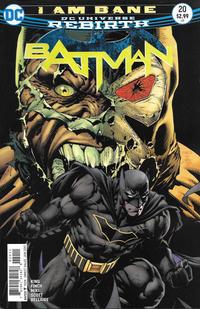 Cover Thumbnail for Batman (DC, 2016 series) #20 [David Finch Cover Variant]