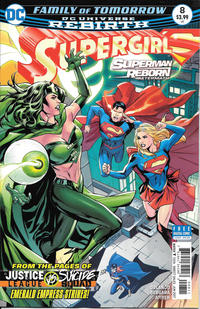 Cover Thumbnail for Supergirl (DC, 2016 series) #8