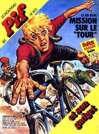 Cover Thumbnail for Le Nouveau Pif (Éditions Vaillant, 1982 series) #693