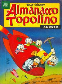 Cover Thumbnail for Almanacco Topolino (Arnoldo Mondadori Editore, 1957 series) #92