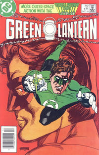 Cover Thumbnail for Green Lantern (DC, 1976 series) #171 [Newsstand]