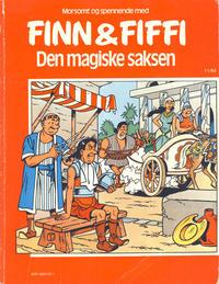 Cover Thumbnail for Finn & Fiffi (Skandinavisk Presse, 1983 series) #11/1984 - Den magiske saksen