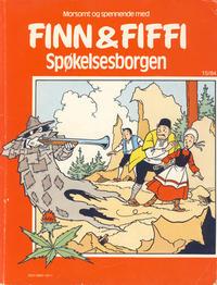 Cover for Finn & Fiffi (Skandinavisk Presse, 1983 series) #15/1984 - Spøkelsesborgen