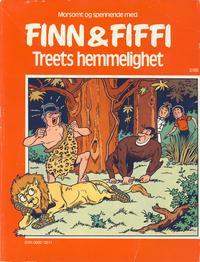 Cover Thumbnail for Finn & Fiffi (Skandinavisk Presse, 1983 series) #2/1985 - Treets hemmelighet