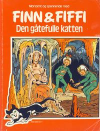 Cover Thumbnail for Finn & Fiffi (Skandinavisk Presse, 1983 series) #12/1985 - Den gåtefulle katten