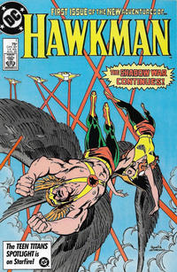 Cover Thumbnail for Hawkman (DC, 1986 series) #1 [Direct]