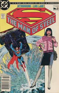 Cover for The Man of Steel (DC, 1986 series) #2 [Direct Sales]