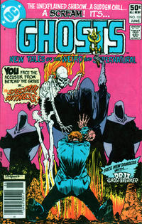 Cover Thumbnail for Ghosts (DC, 1971 series) #101 [Newsstand]