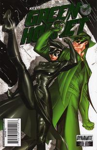 Cover Thumbnail for Green Hornet (Dynamite Entertainment, 2010 series) #1 [[12.] J. Scott Campbell Kick Ass retailer shared exclusive - green foil ]