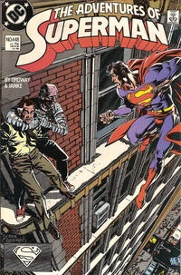 Cover Thumbnail for Adventures of Superman (DC, 1987 series) #448 [Direct]