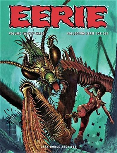 Cover for Eerie Archives (Dark Horse, 2009 series) #23
