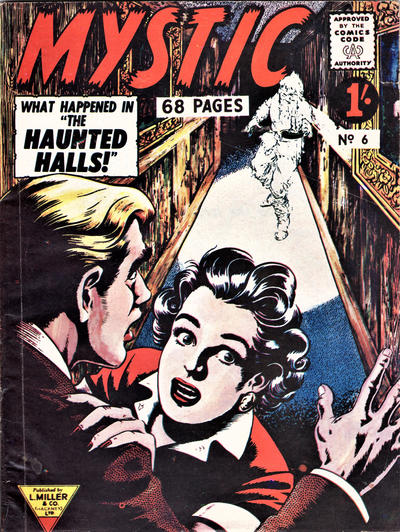 Cover for Mystic (L. Miller & Son, 1960 series) #6