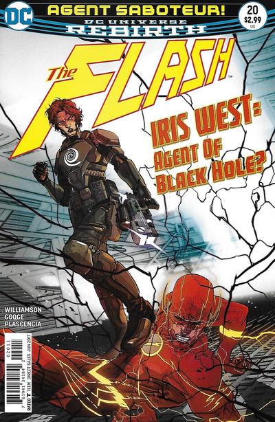 Cover for The Flash (DC, 2016 series) #20 [Carmine Di Giandomenico Cover]