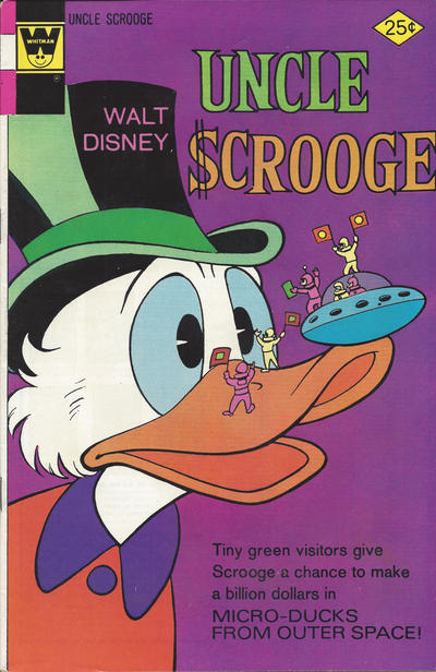 Cover for Uncle Scrooge (Western, 1963 series) #130 [Gold Key]