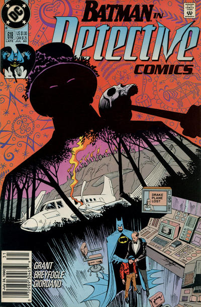 Cover for Detective Comics (DC, 1937 series) #618 [Direct]