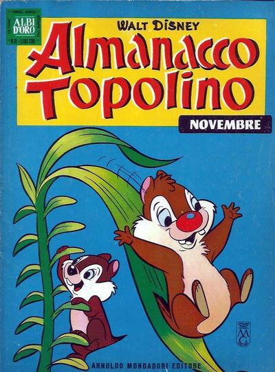 Cover for Almanacco Topolino (Arnoldo Mondadori Editore, 1957 series) #95