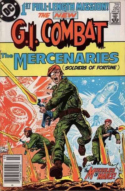 Cover for G.I. Combat (DC, 1957 series) #282 [Direct Sales]