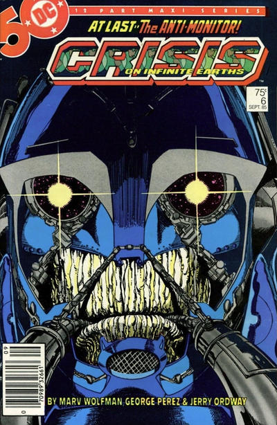 Cover for Crisis on Infinite Earths (DC, 1985 series) #6 [Direct]
