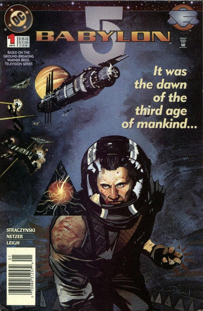 Cover for Babylon 5 (DC, 1995 series) #1 [Newsstand]