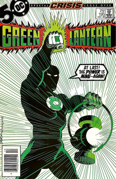 Cover for Green Lantern (DC, 1976 series) #195 [Direct Edition]