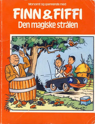 Cover for Finn & Fiffi (Skandinavisk Presse, 1983 series) #[nn] - Den magiske strålen