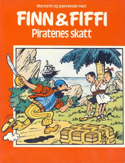 Cover for Finn & Fiffi (Skandinavisk Presse, 1983 series) #[1/1983] - Piratenes skatt