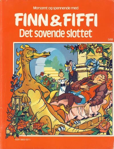 Cover for Finn & Fiffi (Skandinavisk Presse, 1983 series) #3/1985 - Det sovende slottet