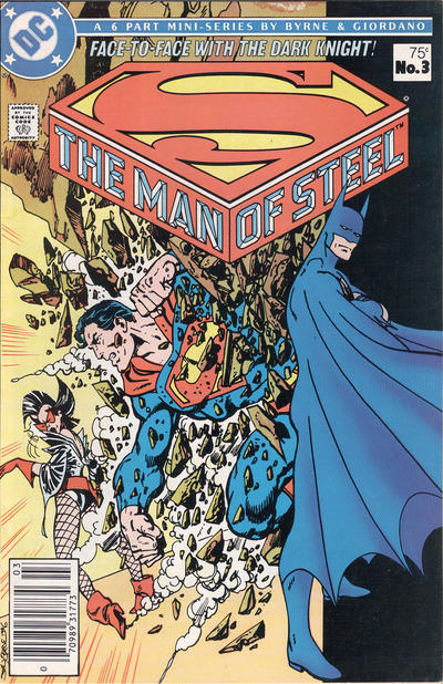 Cover for The Man of Steel (DC, 1986 series) #3 [Direct Sales]