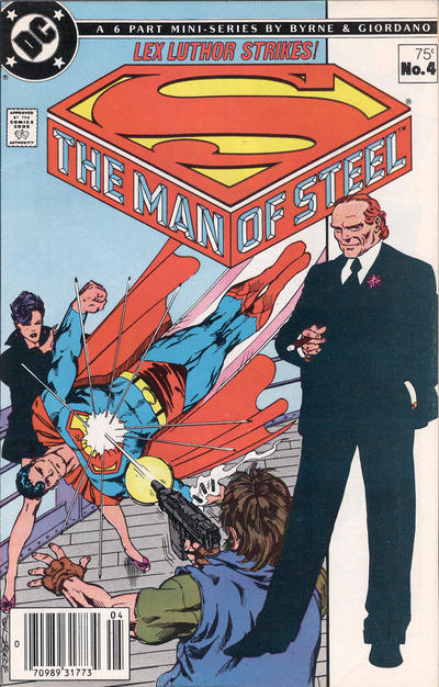 Cover for The Man of Steel (DC, 1986 series) #4 [Direct Sales]
