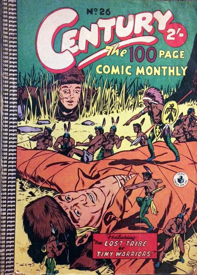 Cover for Century, The 100 Page Comic Monthly (K. G. Murray, 1956 series) #26