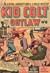 Cover for Kid Colt Outlaw (Horwitz, 1952 ? series) #6