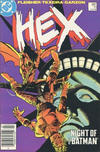 Cover for Hex (DC, 1985 series) #11 [Canadian Newsstand]