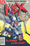 Cover for Hex (DC, 1985 series) #16 [Canadian]