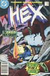 Cover for Hex (DC, 1985 series) #18 [Canadian Newsstand]