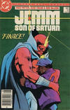 Cover for Jemm, Son of Saturn (DC, 1984 series) #12 [Canadian]